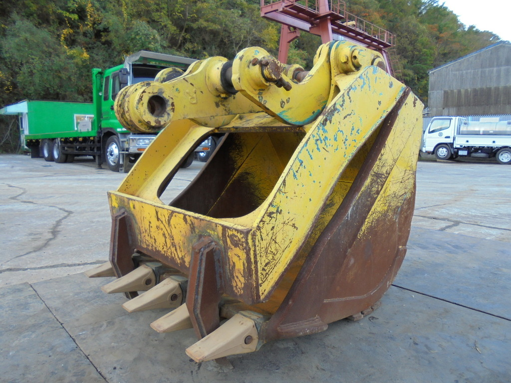 Used Construction Machine used  KOMATSU PC200-STRANGER-BUCKET Photos