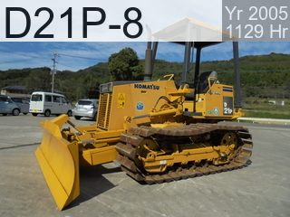 Used Construction Machine used  D21P-8 #83460, 2005Year 1129Hours