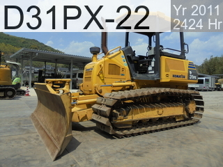 Used Construction Machine used  D31PX-22 #60929, 2011Year 2416Hours