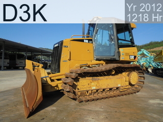 Used Construction Machine used  D3K #LLL01132, 2012Year 1218Hours