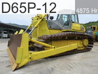 Used Construction Machine used  D65P-12 #65746, -Year 4875Hours