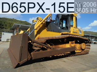 Used Construction Machine used  D65PX-15E0 #69558, 2006Year 3605Hours