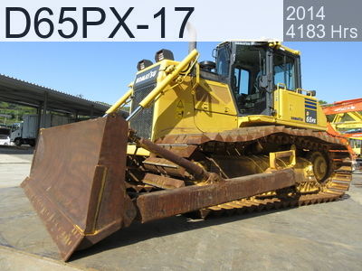 Used Construction Machine used  D65PX-17 #2801, 2014Year 4183Hours