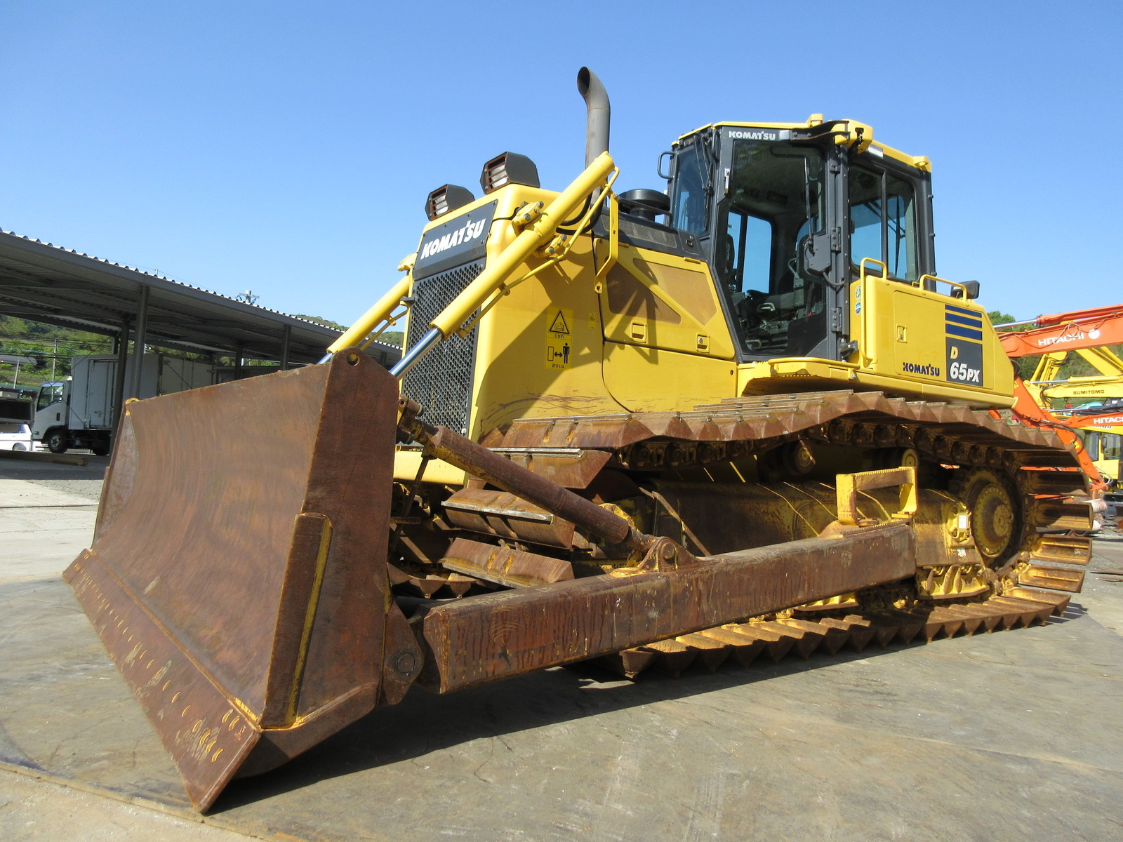 Used Construction Machine used Bulldozer KOMATSU D65PX-17 Photos