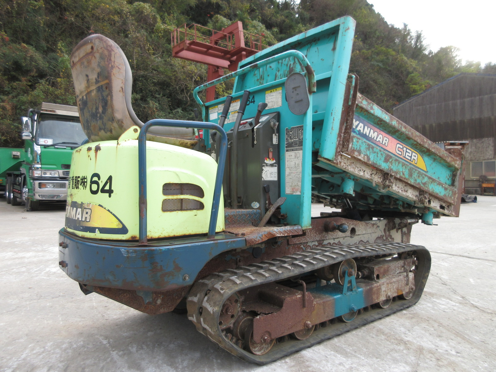 Used Construction Machine used  YANMAR C12R-A Photos