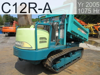 Used Construction Machine used  C12R-A #23017C, 2005Year 1075Hours