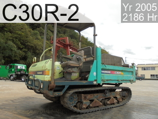 Used Construction Machine used  C30R-2 #20837C, 2005Year 2186Hours