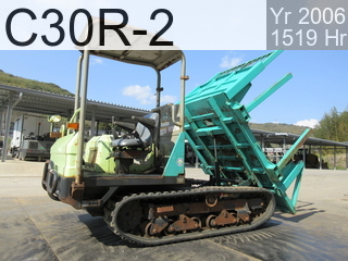 Used Construction Machine used Forestry excavators C30R-2 #21164C, 2006Year 1519Hours