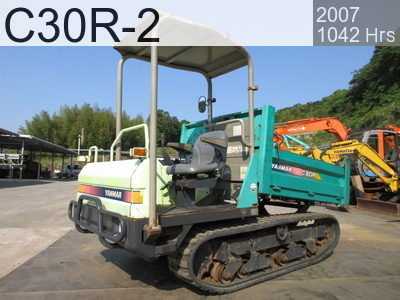 Used Construction Machine used  C30R-2 #21564C, 2007Year 1042Hours