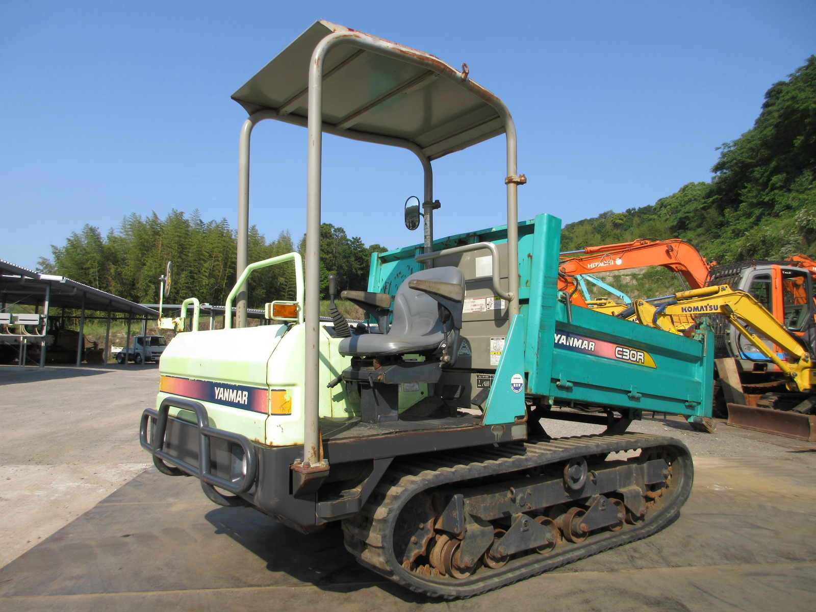 Used Construction Machine used  YANMAR C30R-2 Photos