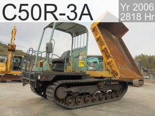Used Construction Machine used  C50R-3A #41749C, 2006Year 2818Hours