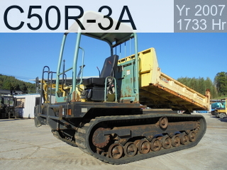 Used Construction Machine used  C50R-3A #41785C, 2007Year 1733Hours