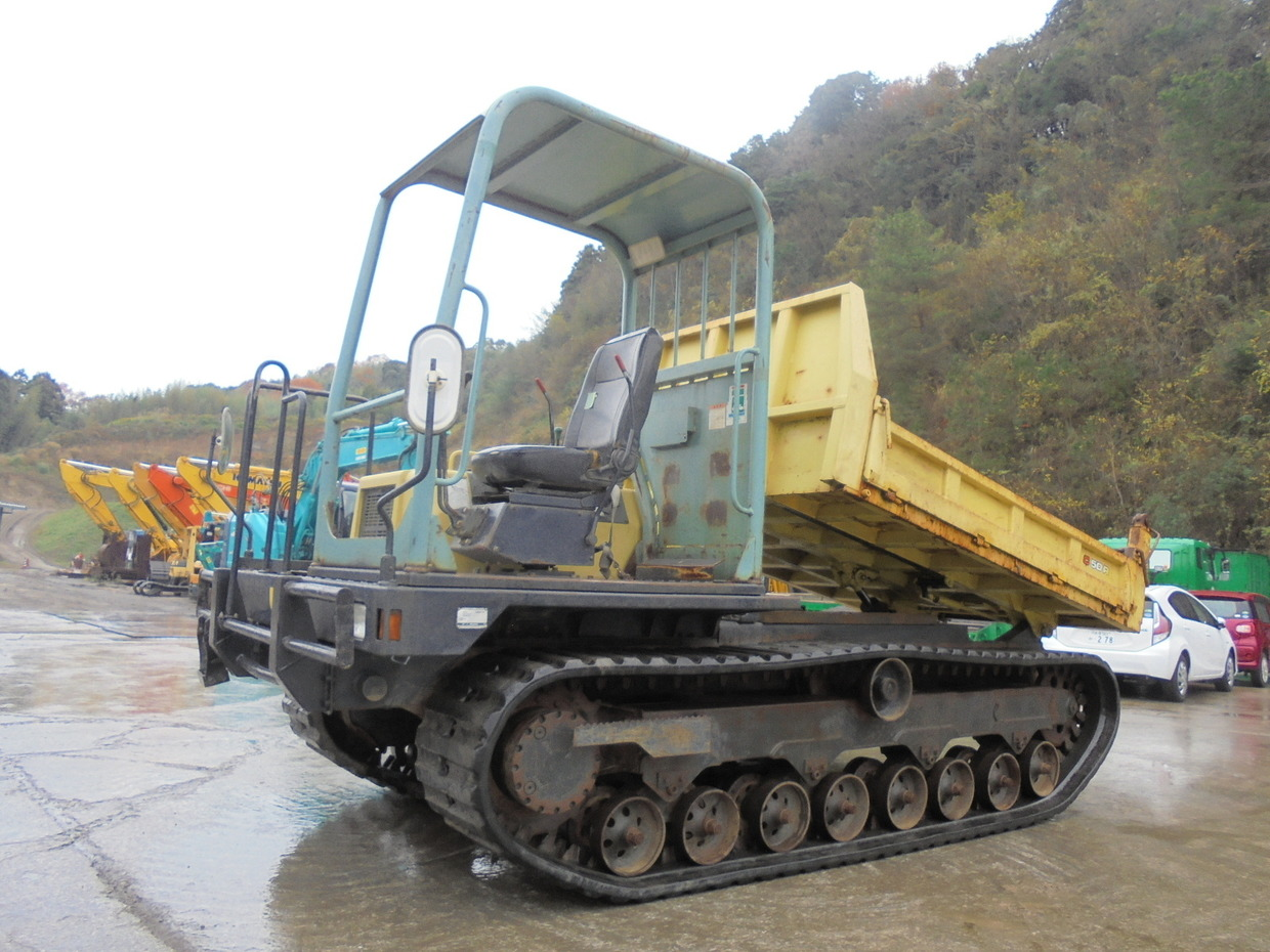 Used Construction Machine used  YANMAR C50R-3A Photos