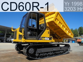 Used Construction Machine used  CD60R-1 #1568, 1998Year 3203Hours