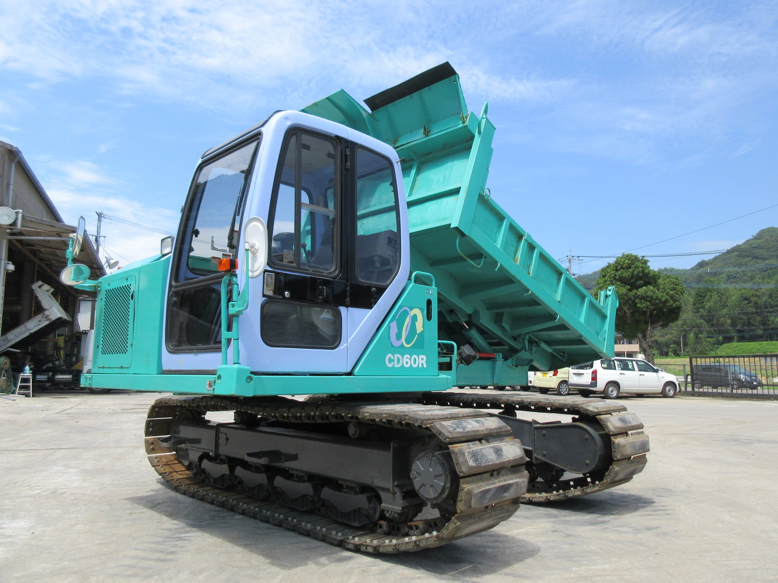 Used Construction Machine used  KOMATSU CD60R-1 Photos