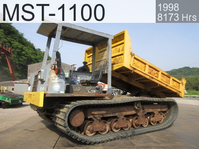 Used Construction Machine used  MST-1100 #113148, 1998Year 8173Hours