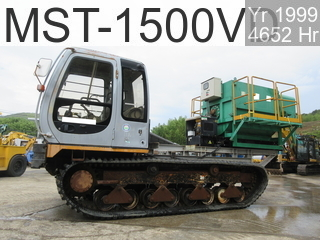 Used Construction Machine used  MST-1500VD #153331, 1999Year 4651Hours
