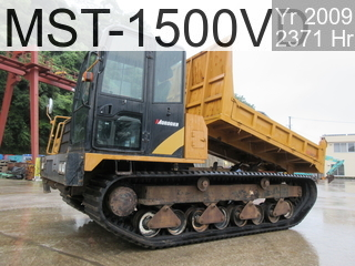 Used Construction Machine used  MST-1500VD #154205, 2009Year 2371Hours