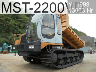Used Construction Machine used  MST-2200VD #222225, 1999Year 12999Hours