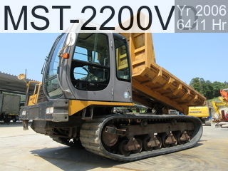 Used Construction Machine used  MST-2200VD #222450, 2006Year 6411Hours