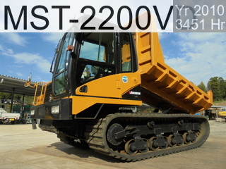 Used Construction Machine used  MST-2200VD #223366, 2010Year 3451Hours