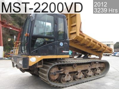 Used Construction Machine used  MST-2200VD #223494, 2012Year 3238Hours