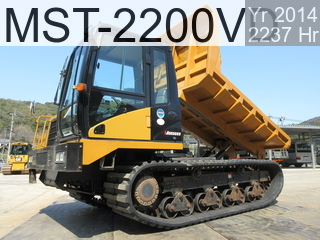 Used Construction Machine used  MST-2200VD #223692, 2014Year 2237Hours