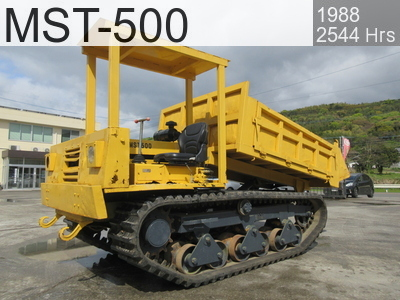 Used Construction Machine used  MST-500 #K-50169, 1988Year 2544Hours