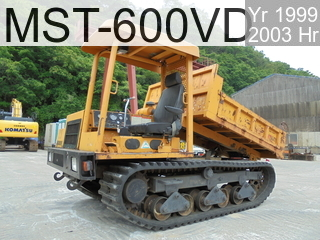 Used Construction Machine used  MST-600VD #60242, 1999Year 2003Hours