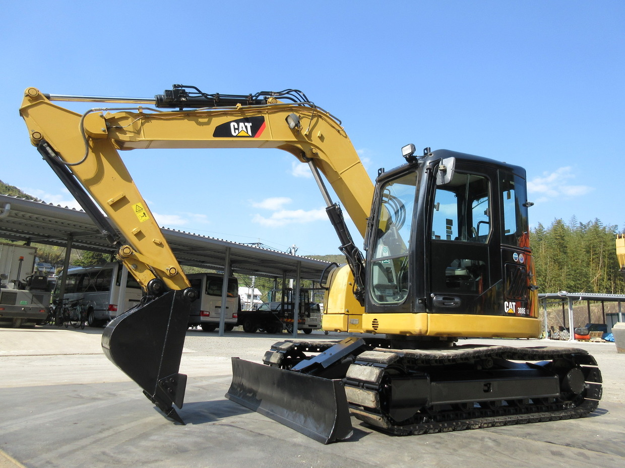 Used Construction Machine used  CAT 308ECR Photos