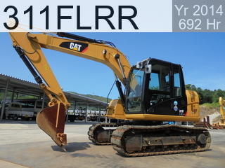 Used Construction Machine used  311FLRR #JFT00136, 2014Year 692Hours