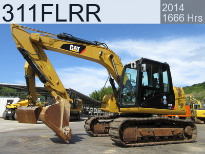 Used Construction Machine used  311FLRR #JFT00313, 2014Year 1666Hours