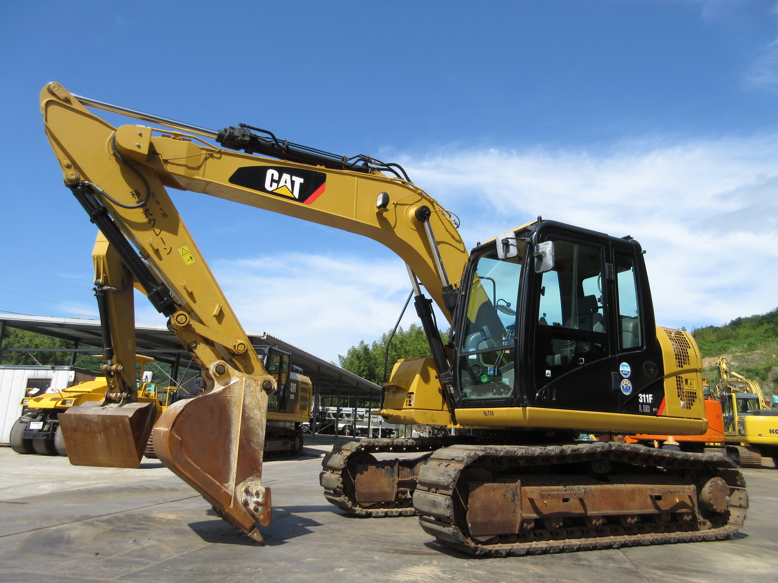 Used Construction Machine used  CAT 311FLRR Photos