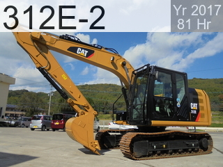 Used Construction Machine used  312E-2 #GAC02678, 2017Year 81Hours