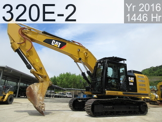 Used Construction Machine used  320E-2 #AWS00342, 2016Year 1446Hours