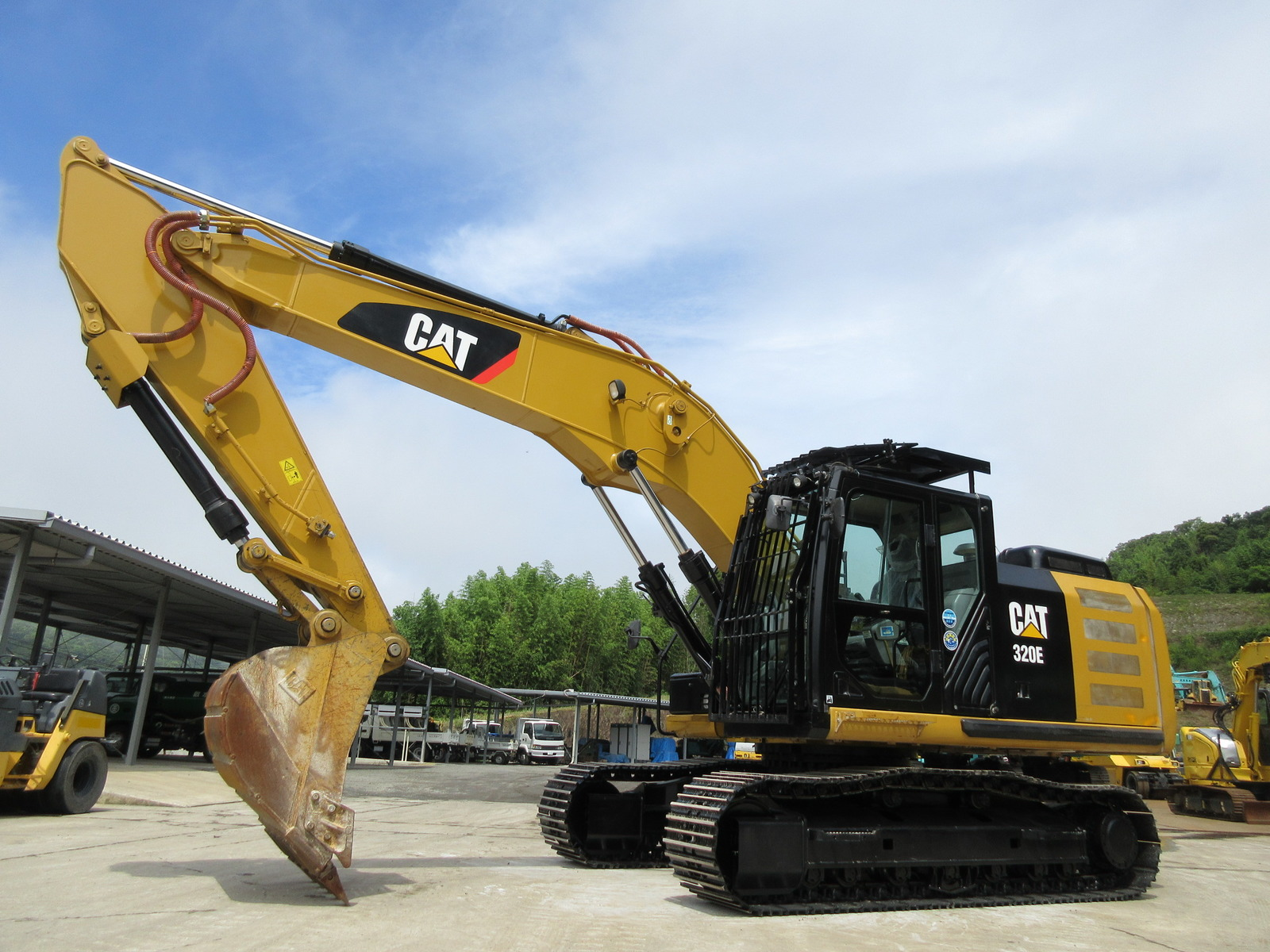Used Construction Machine used  CAT 320E-2 Photos