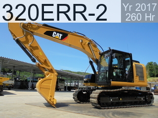 Used Construction Machine used  320ERR-2 #LHN01274, 2017Year 260Hours