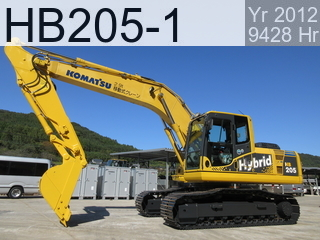 Used Construction Machine used  HB205-1 #2144, 2012Year 9428Hours
