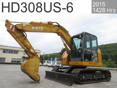 Used Construction Machine used  HD308US-6 #5225, 2015Year 1428Hours