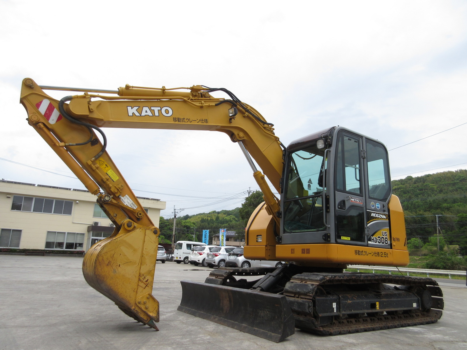 Used Construction Machine used  KATO WORKS HD308US-6 Photos