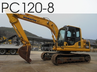 Used Construction Machine used  PC120-8 #87226, 2014Year 1487Hours