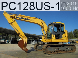 Used Construction Machine used  PC128US-10 #42606, 2015Year 1600Hours