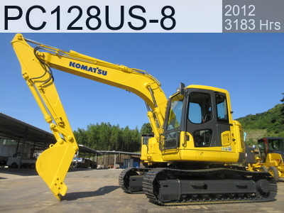 Used Construction Machine used  PC128US-8 #29141, 2012Year 3183Hours