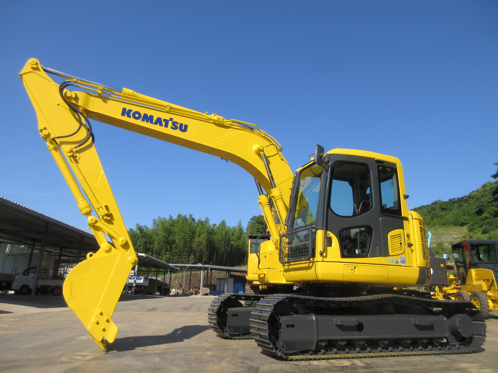 Used Construction Machine used  KOMATSU PC128US-8 Photos