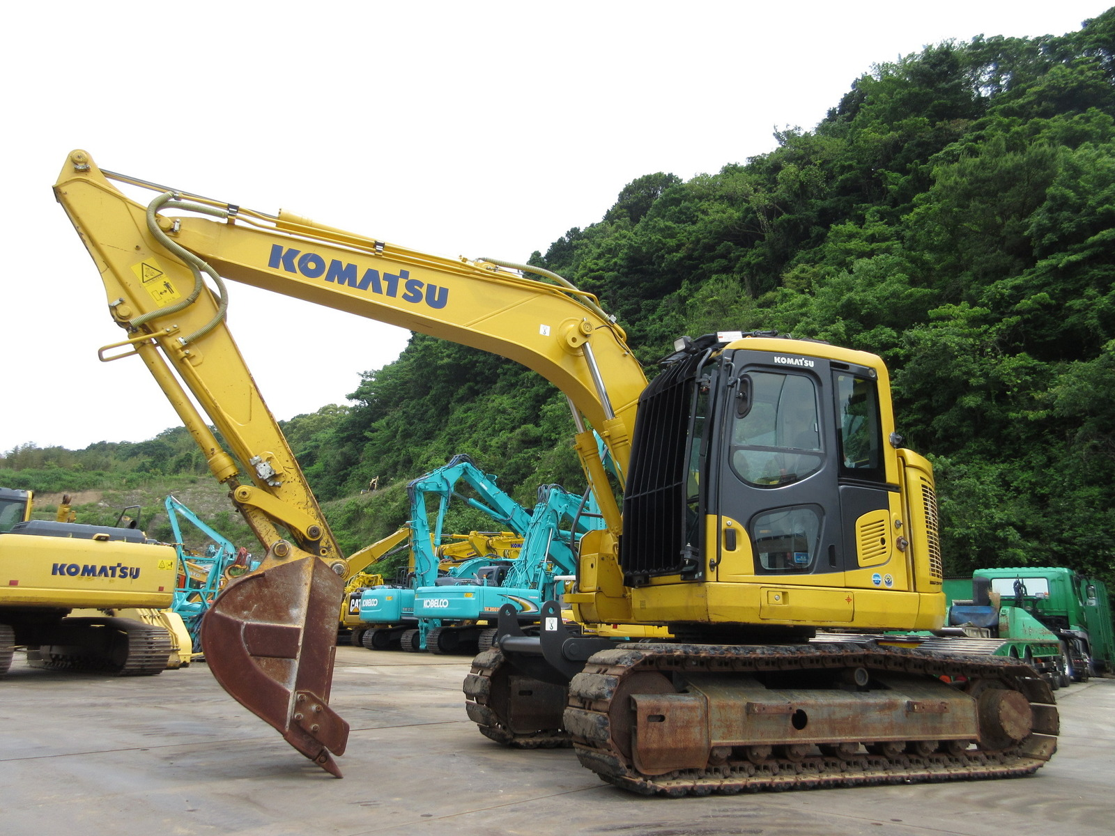 Used Construction Machine used Excavator KOMATSU PC138US-10 Photos