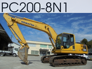 Used Construction Machine used  PC200-8N1 #312579, 2007Year 4419Hours