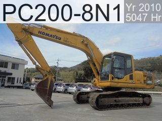 Used Construction Machine used  PC200-8N1 #350773, 2010Year 5047Hours