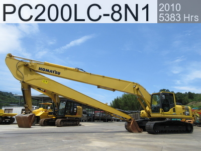 Used Construction Machine used  PC200LC-8N1 #350419, 2011Year 5383Hours
