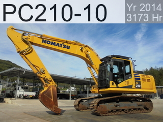 Used Construction Machine used  PC210-10 #452345, 2014Year 3173Hours