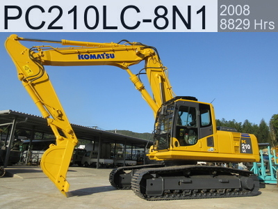 Used Construction Machine used  PC210LC-8N1 #314580, 2008Year 8829Hours